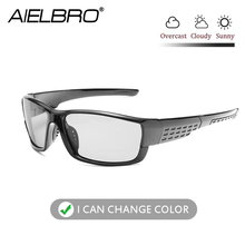 цена на Polarized Sunglasses Men Women Sports Bicycle Sunglasses UV400 Road MTB Bike Riding Eyewear Protection Goggles Photochromic