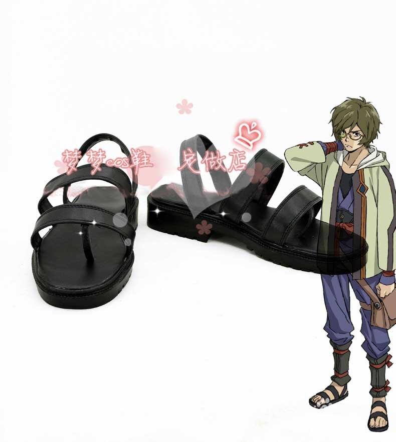 Koutetsujou no Kabaneri /Kabaneri of the Iron Fortress Ikoma cosplay shoes Boots Custom Made Free Shipping