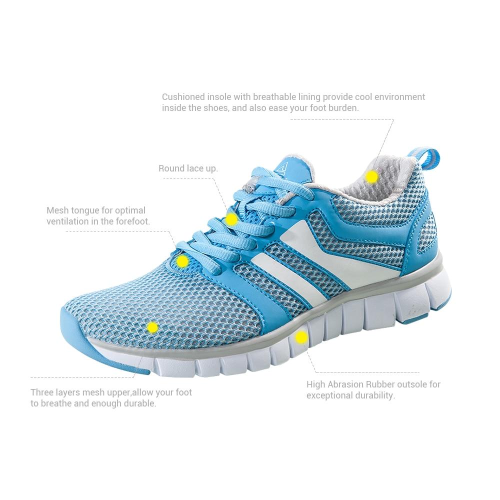PEAK SPORT Women Running Shoes Breathable Running Shoes For Women Brand  Sports Athletic Sneakers Ladies Running Shoes PEAK-in Running Shoes from  Sports ... 03e20da88