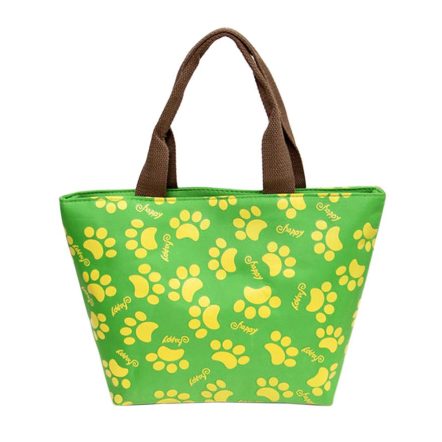 Thermal Insulated Tote Picnic Lunch Cool Bag Cooler Box Handbag Pouch High Quality Lunch Cases A8