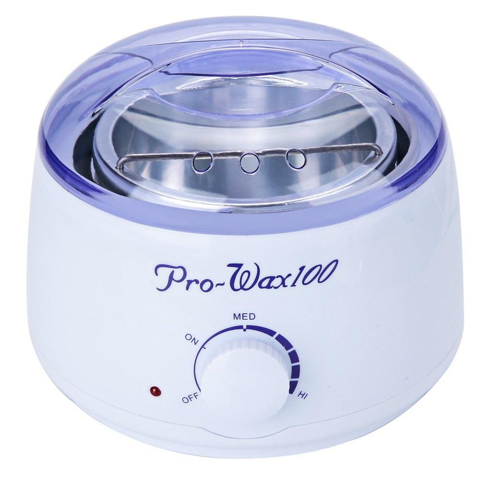 Depilatoria caliente calentador de cera de la atención de la salud calentador de parafina Mini SPA manos pies depiladora máquina de cera depilatoria enchufe de la UE