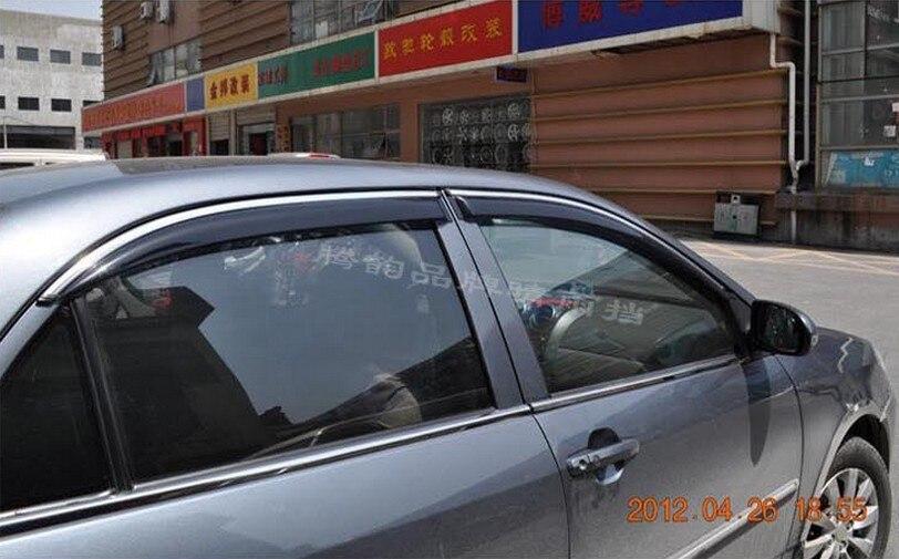 For Volkswagon VW Jetta 6 Mk6 2010 2011 2012 2013 Side Door Window Visor Deflector Sun