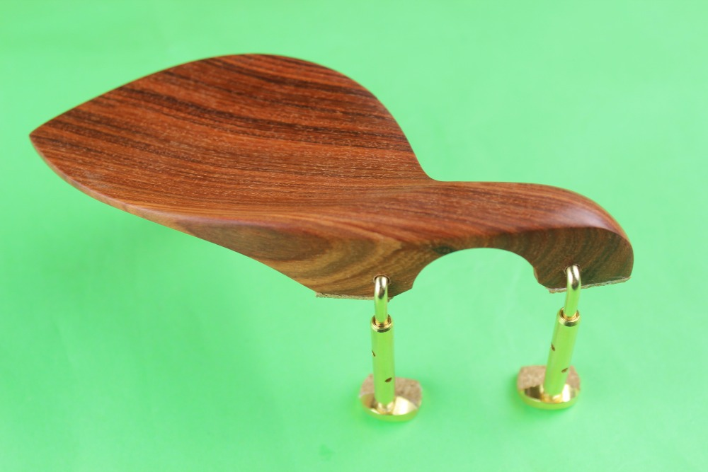 New High Quality Rosewood Viola Chin Rest + Golden Screw, Viola Parts