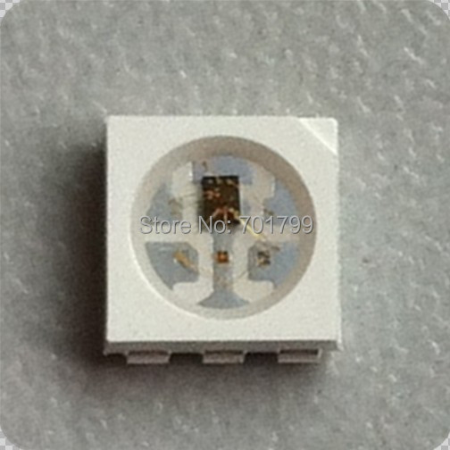 APA 102C RGB full color 5050 LED control IC inside