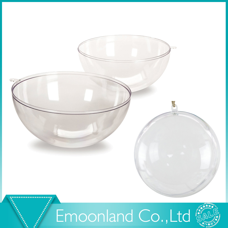 Clear Plastic Christmas Balls Wholesale