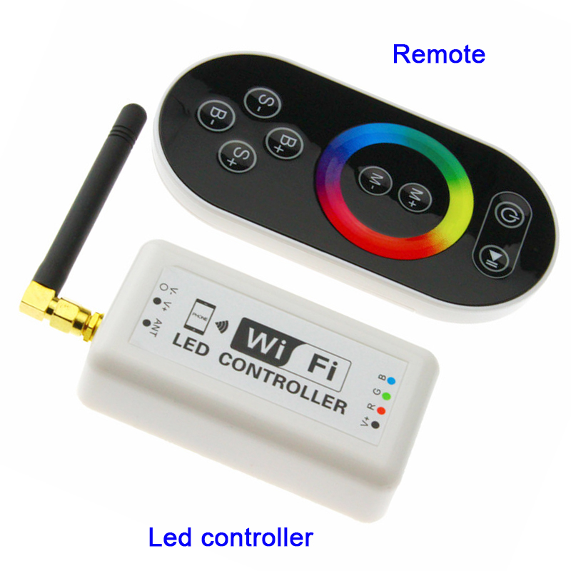 Wifi370 wifi controller dimmer rgb led strip light controller smart wifi370 wifi controller dimmer rgb led strip light controller smart iphone android ios system 2835 3528 5050 led tape module aloadofball Images