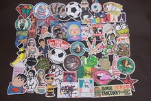50 pcs random  funny hit stickers for kids Home decor jdm on laptop sticker decal fridge skateboard doodle stickers toy stickers