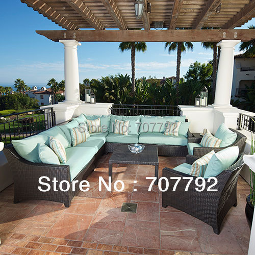 2017 New Design Bali Rattan Outdoor Lounge Furniture China Mainland