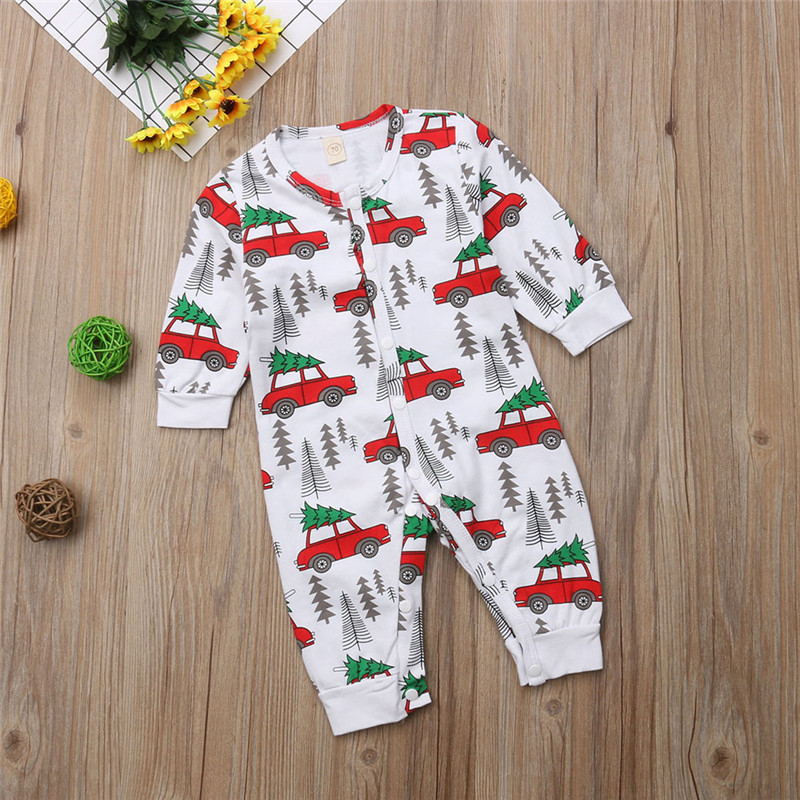 HTB1eQRrXcrrK1RjSspaq6AREXXai - pudcoco Xmas Newborn Baby Boy Girl Romper Christmas Tree Car Rompers Cotton Boys Girls single breasted Romper Outfit Clothes