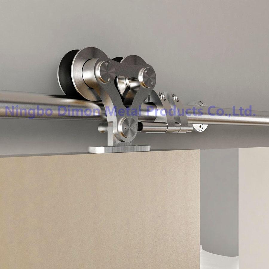Dimon Customized SUS 304 Sliding Door Hardware Wood Sliding Door Hardware America Style Sliding Door Hardware DM-SDS 7102