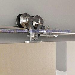 Dimon personalizado SUS 304 puerta corredera hardware de madera puerta corredera hardware América estilo puerta corredera hardware DM-SDS 7102
