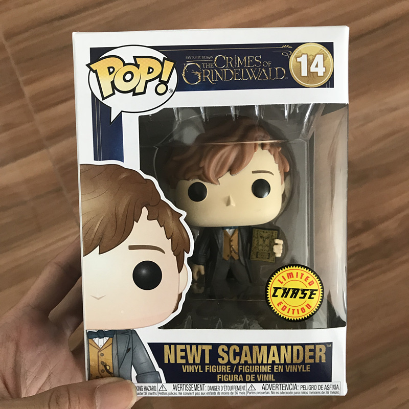 Pop Keychain Funko Newt Vinyl Action Figure New In Box Fantastic Beasts