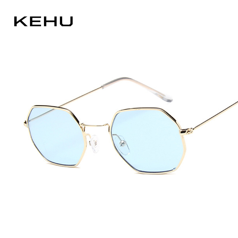 KEHU Women Square Sunglasses Brand Sun Glasses Designer Design Man Sunglasses Women Fashion Trend Glasses UV400 K9632