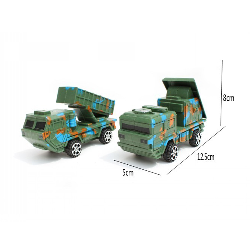 Toys & Hobbies Careful Soldier Boy Sand Table Model Toy Radar Missile Armored Car Armored Soldier Parts 2pcs/set Plastic Toy Set Classic Toys