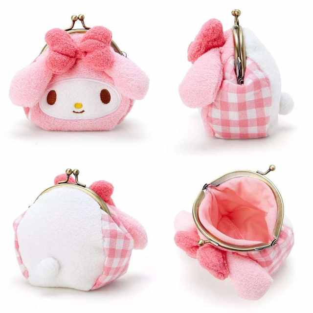 Cute Hello Kitty Cat My Melody Big Ears Cinnamoroll Dog Pudding Dog Plush  Backpack Animals Small 27af462a72375