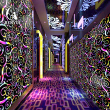 3d Latest KTV New Style Bar Wallpaper Wall Coating Fashion Home Decoration Papel De Parede