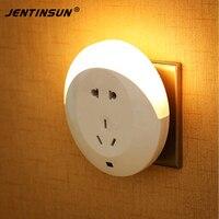 Intelligent Light Sensor LED Night Light For Baby Room Wall Socket LED Bedside Lamp Energy Saving
