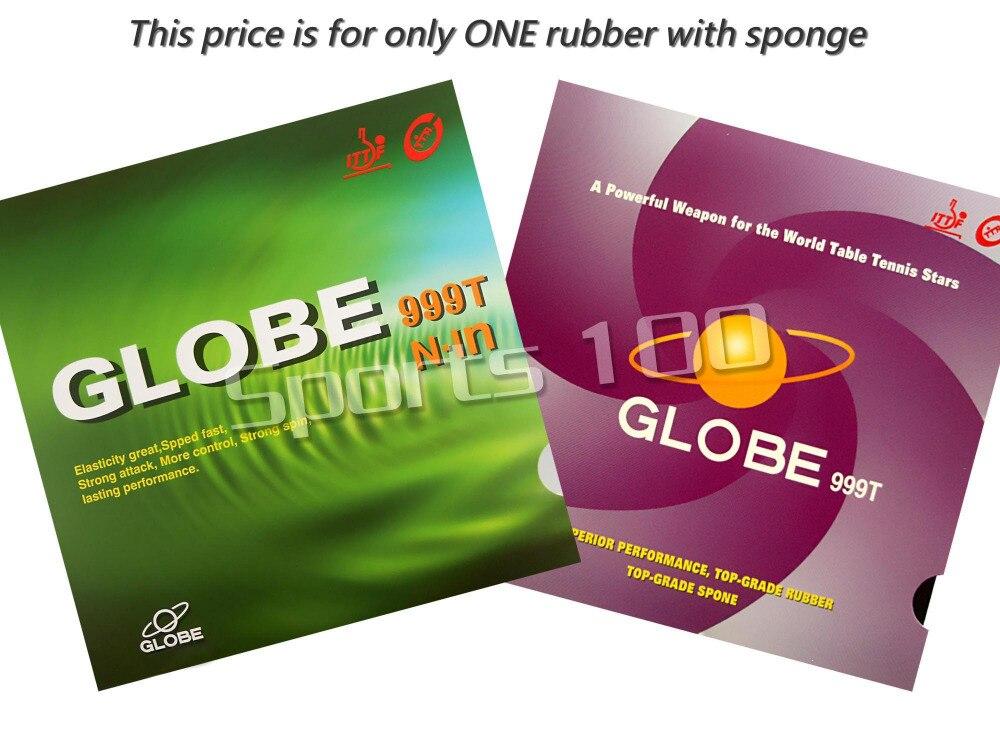 Globe 999 T de ping-pong en caoutchouc avec éponge