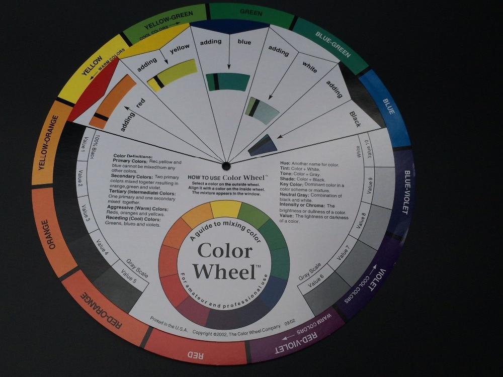 Erfinderisch 5 StÜcke Micro Pigment Farbe Rad Leitfaden Mischen Farbe Tattoo Permanent Make-up Zubehör Tinte Farbe Rad Farbfelder Um Eine Reibungslose üBertragung Zu GewäHrleisten