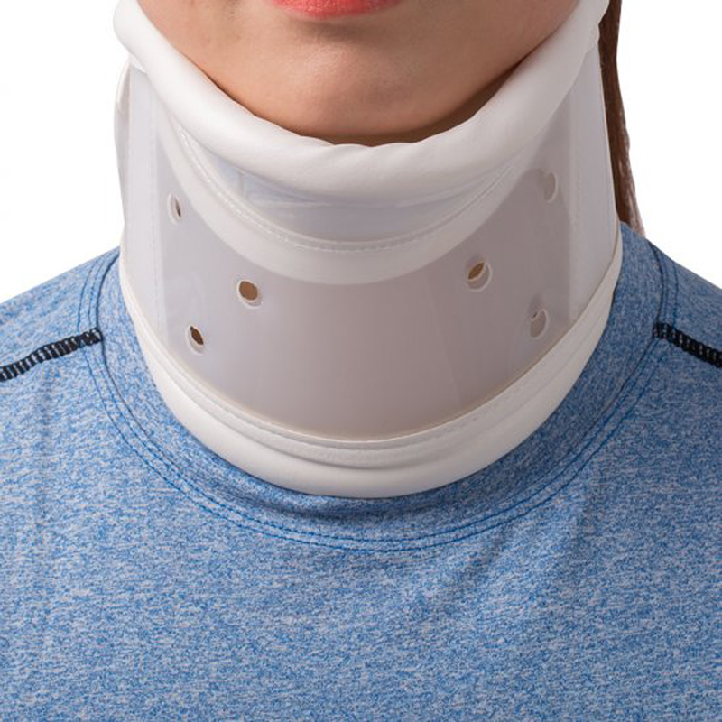 Neck Brace  Cervical Collar Adjustable Soft Support Collar Wraps Aligns Stabilizes Vertebrae Relieves Pain and Pressure in Spine hot sale philadelphia cervical collar imported materials neck brace support