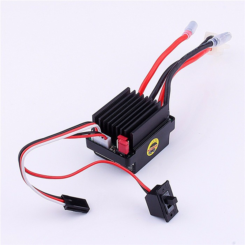 RC Ship & Boat R/C Hobby 6-12V Brushed Motor Speed Controller ESC 320A Brushed Motor Speed Controller for RC Boat Car Model