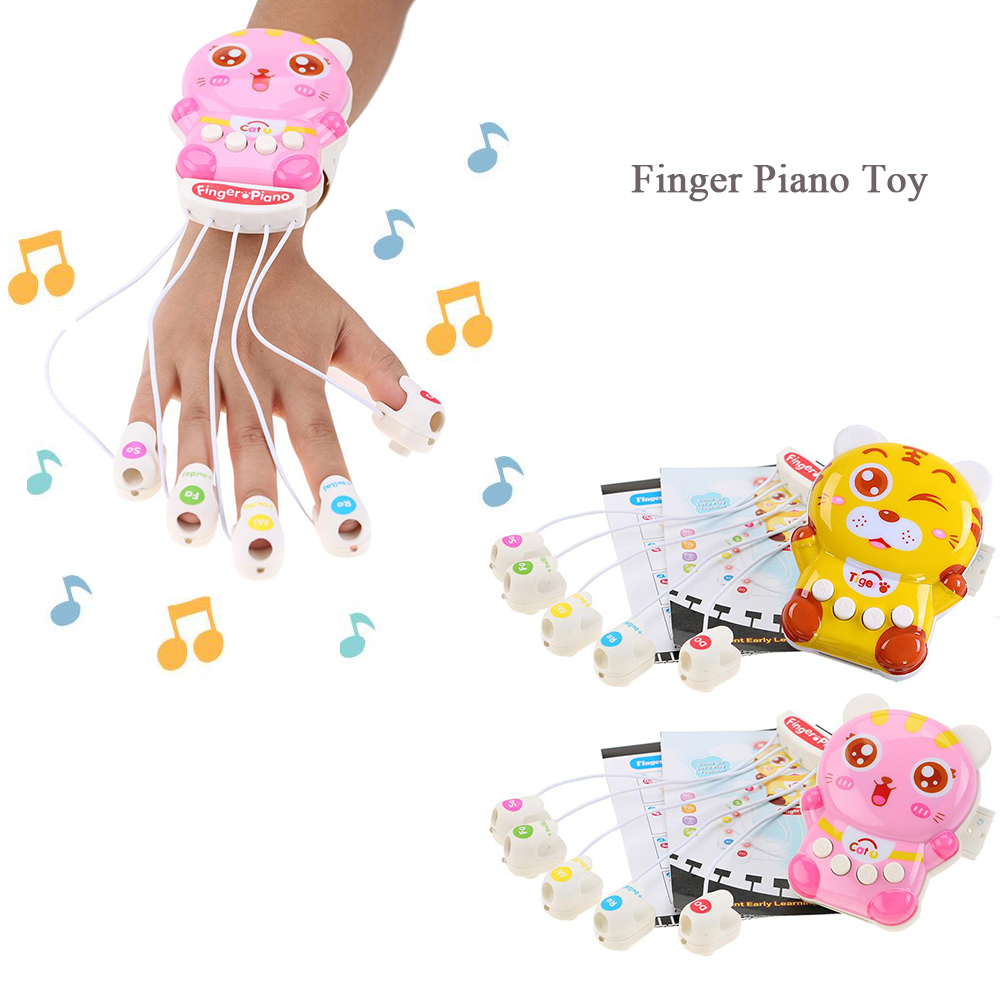 Apparel Accessories Electronic Piano Gloves With Built-in Speaker Demo Melody Song Music Box Fun Toy Birthday Present Be Novel In Design