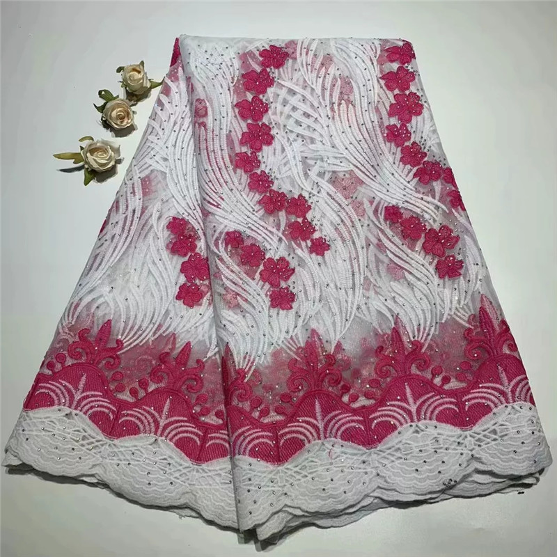 African Laces Fabric Embroidered nigerian Guipure French Lace Fabric High quality 2019 African cotton Net Lace Fabric ZQ041306African Laces Fabric Embroidered nigerian Guipure French Lace Fabric High quality 2019 African cotton Net Lace Fabric ZQ041306