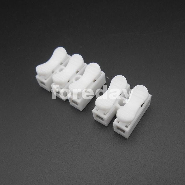 20PCS X NEW Press quick connect terminal 2 / 3 Wires connector ...