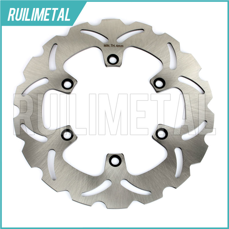 1pc New Rear Brake Disc Rotor for KAWASAKI GTR1000 GTR-1000 GTR 1000 ZG1000 94 95 96 97 98 99 00 01 02 03 04 05 06 rear brake disc rotor for kawasaki kle500 91 92 93 94 95 96 97 98 99 00 01 02 03 04 05 06 07 klr650 a c kl650 tengai