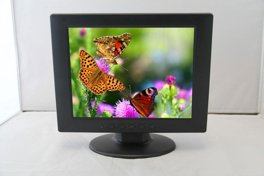 10 inch LCD monitor display HD multifunctional monitor CCD video monitor