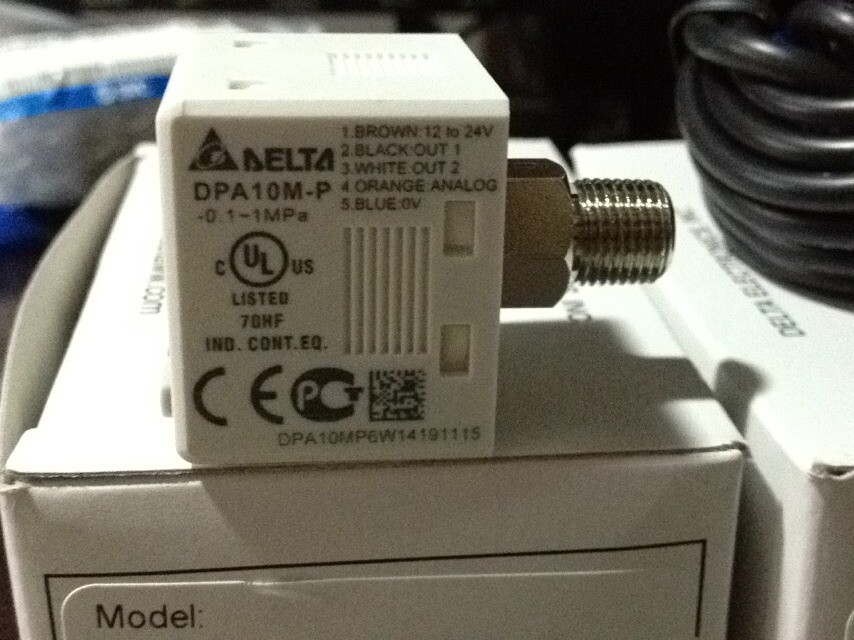 NEW Original Taiwan delta digital pressure switch DPA10M-P new original pressure switch gw500a6