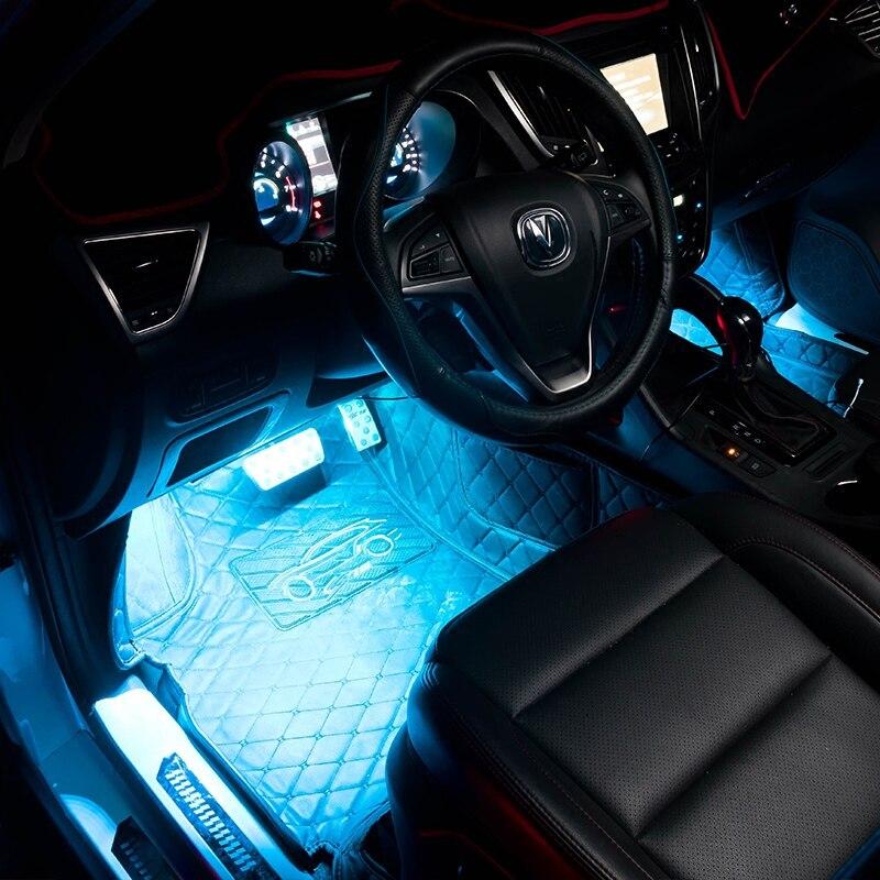 Auto LED Interieur verlichting Sfeer Lamp Decoratieve Lamp voor VW ...