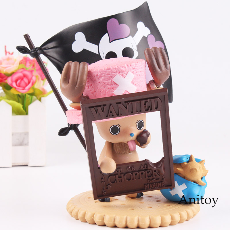 One Piece Anime Chopper One Piece Tony Tony Chopper Premium Season Figure Valentine 2012 PVC Action Figure Model Toy 17cm image