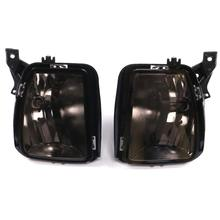 2 Pcs Gray Bumper Fog Light Driving Lamp Replacement Smoke Lens 2013-2018 For Dodge RAM 1500 цена