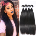 7A Brazilian Virgin Hair Straight 4 Bundles Unprocessed Human Hair Weave Brazilian Hair Bundles Virgin Brazilian Straight Hair