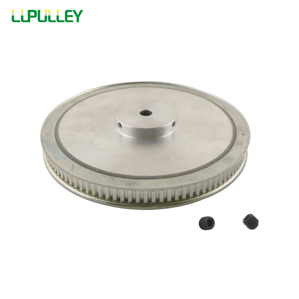 LUPULLEY XL 100T  Timing Pulley 10mm/12mm Bore Belt Pulley  Aluminum  Alloy 100Teeth  Belt Width 11mm Synchronous Wheel Pulley htd5m 20 teeth 25mm belt width aluminum timing pulley and timing belt
