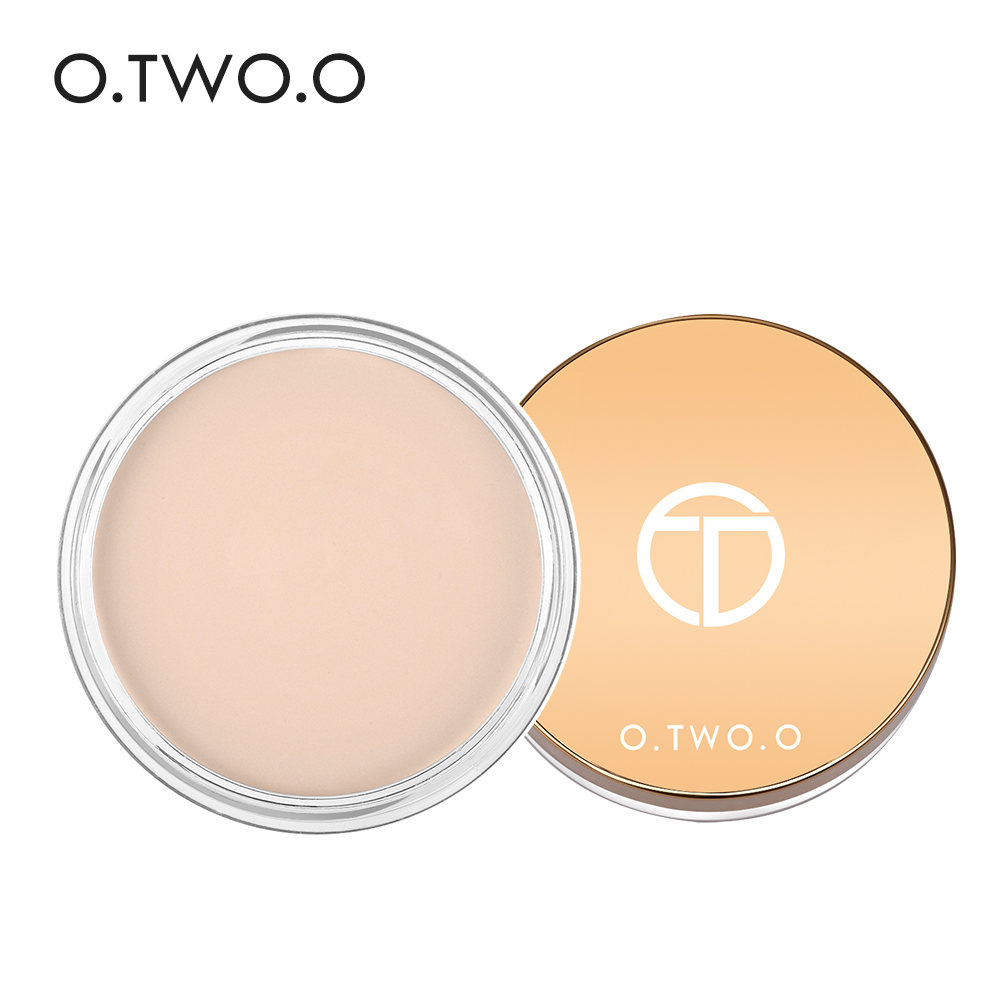 O.TWO.O 6colors Concealer cream Makeup Primer Cover Pore Wrinkle Foundation Base Lasting Oil Control Cream Concealer makeup base color corrector contour cream concealer palette