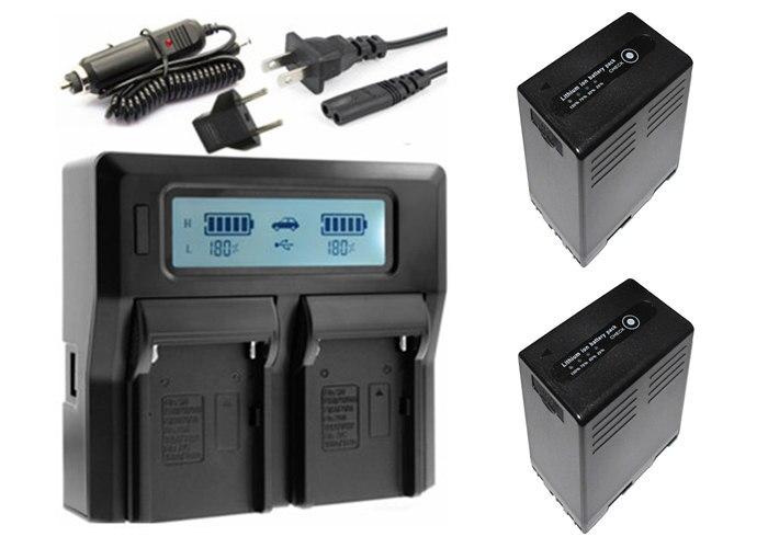 2x BP U65 BP U65 BP U90 BP U30 BP U60 Battery with D tap Function