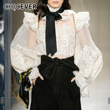 Blouse 2019 Bow CHICEVER
