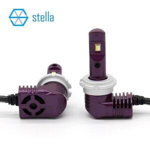 Image 4 - 2pcs mini led bulb car headlamp H7 H8/HB3 H9/HB4 light H11 9005/9006 9012/5202/D1/D2/3/4/PSX24W/P13W/PSX26W 6000k 5200lm 12V 35W