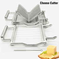 New Butter Cutter Cheese Slicer with Stainless Steel Blade Wire Making Dessert Blade Durable Commercial Kitchen Cooking Baking