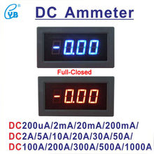 YB5135B LED Digital DC Medidor de Corrente DC 200mA 2A 5A 10A 20A 50A 100A 200A 300A 500A 1000A Amperímetro Amp Medidor de Painel Amperímetro Micro