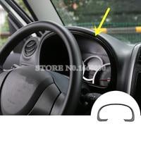 Black Front Dashboard Edge Decorative Trim Cover 1pcs For Suzuki Jimny 2007-2015