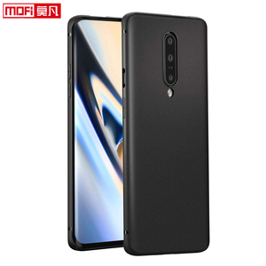Image 2 - matte case for oneplus 7 pro case oneplue 7 cover silicon back black soft Mofi ultra thin protective coque OnePlus 7 Pro Cover