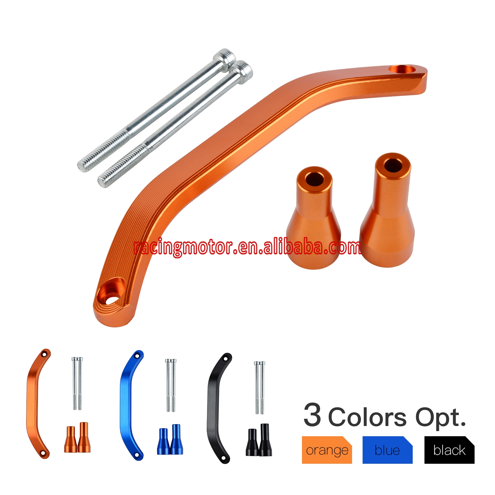 CNC Rear Lift Grab Handle with Bolt Kits for KTM 85 125 150 200 250 300 350 450 500 SX SX-F XC XCF XCW EXC EXC-F XCF-W Freeride carb carburetor 36mm pwk fit ktm 2008 2015 250 300 xc xcw sx 2 strokes keihin