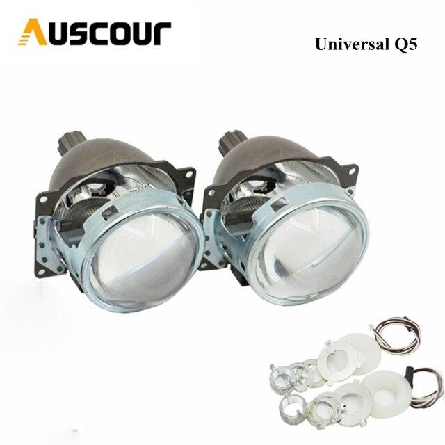 3.0 polegada bixenon hid lente do projetor Koito Q5 Lâmpada Xenon farol para H1 H4 H7 H11 9005 9006 Modificar universal montagem do carro