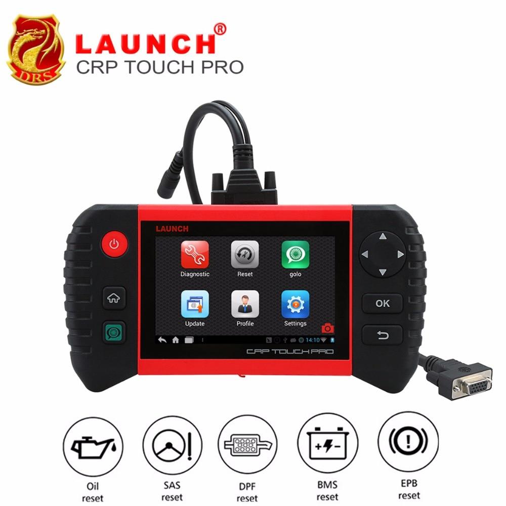 LANCIO Creader CRP Touch Pro Completa OBDII per Tutti I Sistemi WiFi Scanner Strumento di Scansione Diagnostico SAS EPB BMS DPF reset Olio strumento Automotive