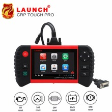 LAUNCH Creader CRP Touch Pro Full OBDII All System Scanner WiFi Diagnostic Scan Tool SAS EPB BMS DPF Oil reset Automotive Tool цена