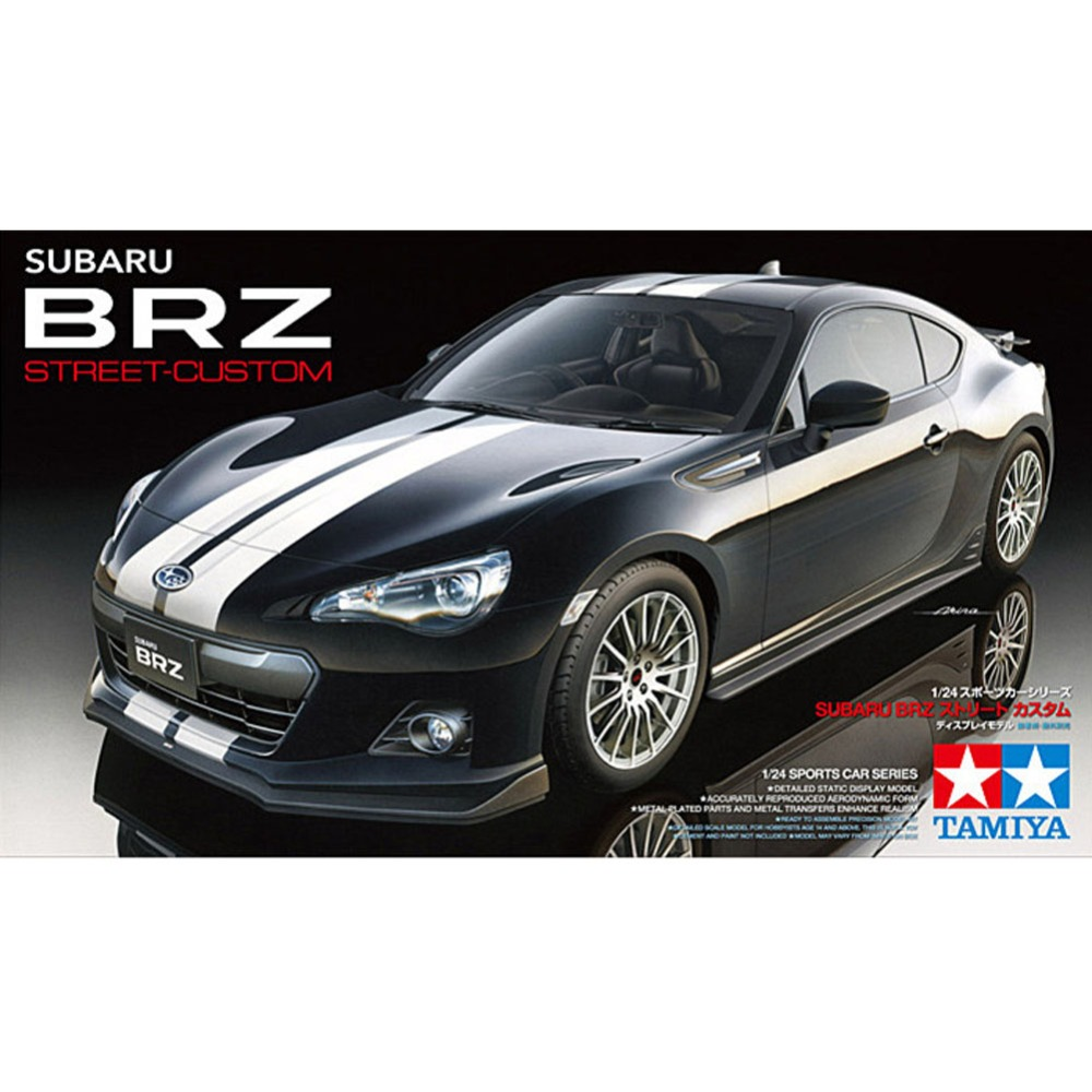 OHS Tamiya 24336 1/24 BRZ Street Custom Scale Assembly Car Model Building Kits ohs tamiya 14101 1 12 desmosedici scale assembly motorcycle model building kits