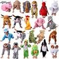 24 Стили Животных Disfraces Косплей Наборы Хэллоуин Костюмы Для Детей детский Рождественский Одежда Мальчики Девочки одежда 2T-9Y